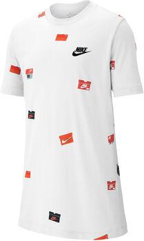Nike Sportswear Shoebox shirt Jongens Wit