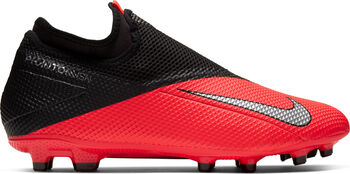Nike Phantom Vision 2 Academy Dynamic Fit MG voetbalschoenen Rood