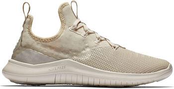 Nike Free TR 8 Champagne fitness schoenen Dames Wit