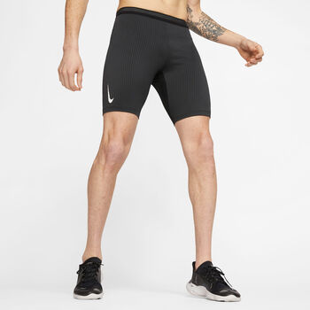 Nike AeroSwift short Heren Zwart