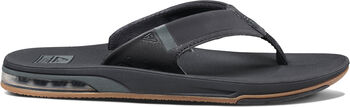 Reef Fanning Low slippers Heren Zwart