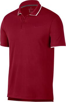 Nike Dry Polo Team shirt Heren Rood