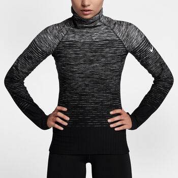 Nike Pro HyperWarm top Dames Zwart