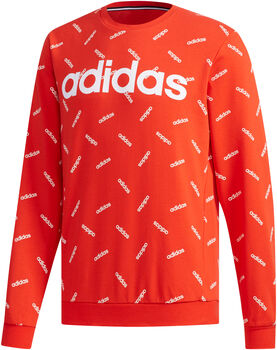 ADIDAS All Over Print sweater Heren Rood