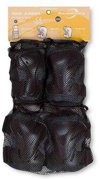 Rollerblade Pro Junior 3 pack skate bescherming Grijs