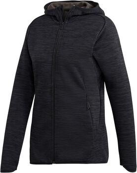 adidas Fleece CH hoodie Dames Zwart