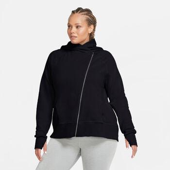 Nike Yoga Full-Zip hoodie Dames Zwart