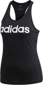 ADIDAS Linear Slim shirt Dames Zwart