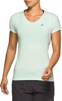 ASICS V-Neck shirt Dames Groen
