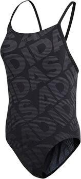adidas Performance+ Linear badpak Dames Zwart