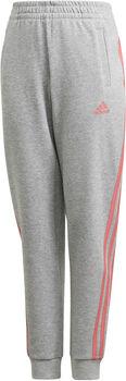 adidas 3-Stripes Tapered Leg Broek Grijs