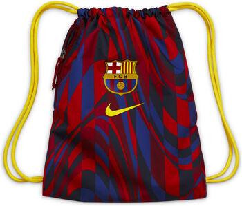 Nike FC Barcelona Stadium gymtas Rood