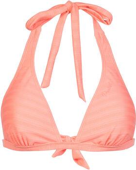 Protest Mob C-Cup Halter bikinitop Dames Geel