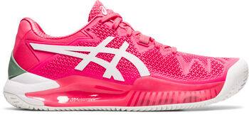 ASICS GEL-Resolution 8 Clay tennisschoenen Dames Roze