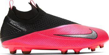 Nike Phantom Vision 2 Elite Dynamic Fit MG kids voetbalschoenen Rood