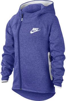 122f01f95ba Nike Sportswear Tech Fleece hoodie Meisjes Paars