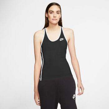 Nike Sportswear Heritage tanktop Dames Zwart