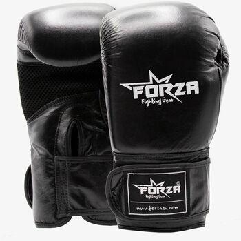 Forza Kunstleren bokshandschoenen Heren Zwart