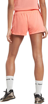 Reebok Workout Ready short Dames Rood