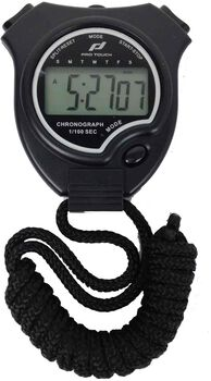 PRO TOUCH Basic stopwatch Zwart