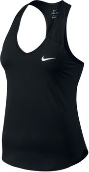 Nike Pure top Dames Zwart