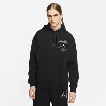 Nike Paris Saint-Germain Stadion taped hoodie Heren Zwart