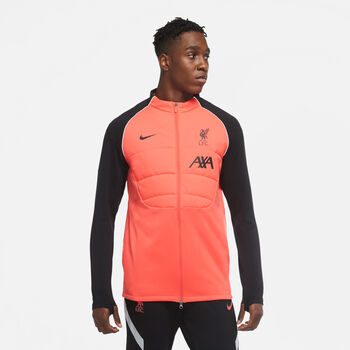 Nike Liverpool FC Strike Synthetic-Fill Drill jack 20/21 Heren Rood