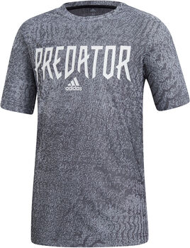 ADIDAS Predator Urban Jr voetbalshirt Jongens Zwart