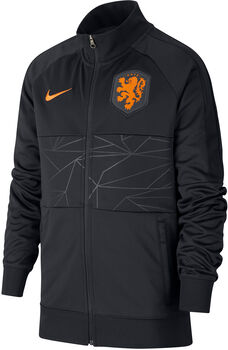 Nike Nederland 2020 I96 Anthem kids jack Jongens Zwart