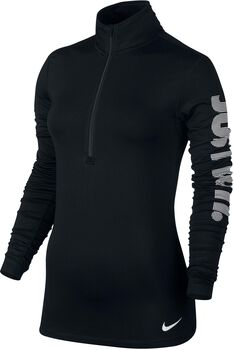 Nike Pro Warm longsleeve Dames Zwart