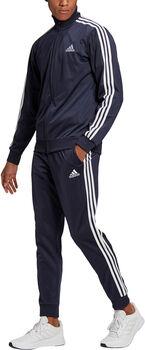 adidas Primegreen Essentials 3-Stripes trainingspak Heren Blauw