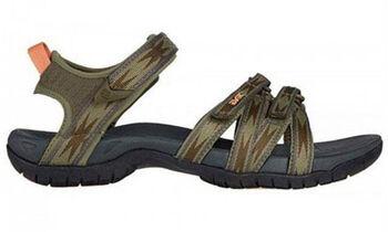 Teva Tirra sandalen Dames Groen