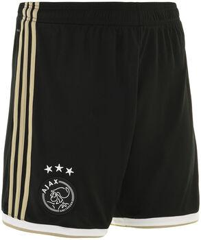 Adidas Ajax Away jr wedstrijdshort 2018/2019 Jongens Zwart