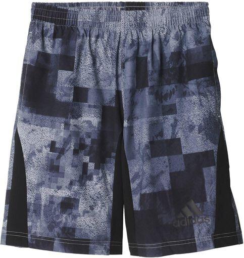 Adidas - T Swat jr short - Jongens - Kleding - Grijs - 164