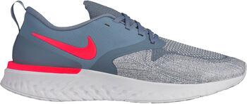 Nike Odyssey React Flyknit 2 hardloopschoenen Heren Blauw
