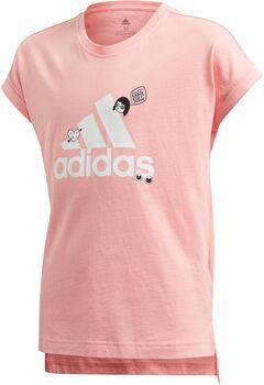 ADIDAS Collegiate shirt Rood