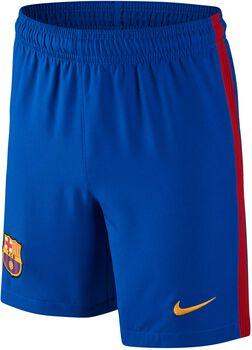 Nike FC Barcelona jr wedstrijdshort 2016/2017 Jongens Blauw