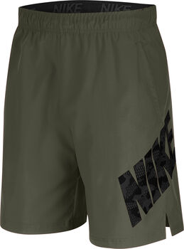 Nike Flex 8I Camo Training short Heren Groen