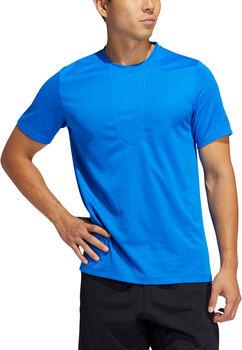 ADIDAS HEAT.RDY 3-Stripes shirt Heren Blauw