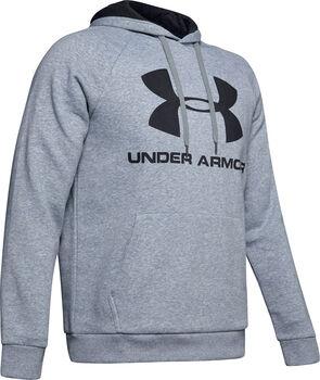Under Armour Rival Fleece Sportstyle Logo sweater Heren Grijs
