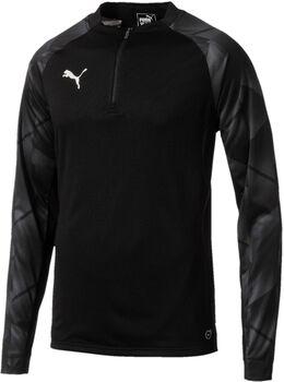 Puma ftbINXT 1/4 Zip shirt Heren Zwart