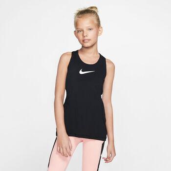 Nike Pro tanktop Meisjes Zwart