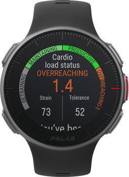 Polar Vantage V sporthorloge met hartslagmeter Zwart