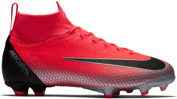 Nike Superfly 6 Elite CR7 FG Jr voetbalschoenen Oranje