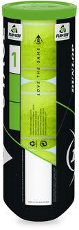 Stage 1 Green 3 tennisballen tube