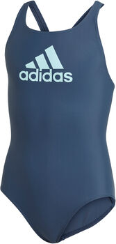 adidas Badge of Sport kids badpak Meisjes Blauw