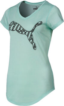 Puma Heather Cat shirt Dames Blauw