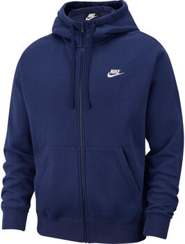 Nike Sportswear Club hoodie Heren Blauw