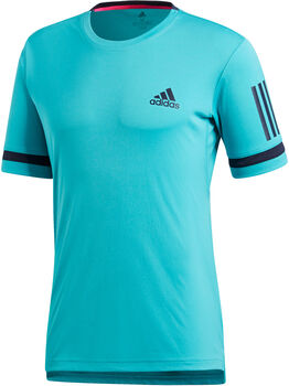 ADIDAS Club 3-Stripes shirt Dames Blauw