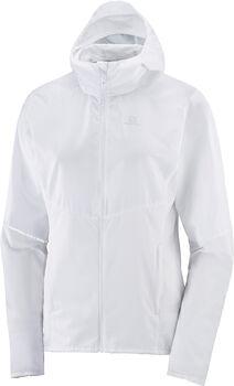 Salomon Agile Full Zip hoodie Dames Wit